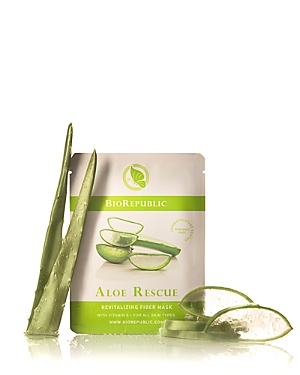 BioRepublic Aloe Rescue Revitalizing Fiber Sheet Mask, 1 Mask