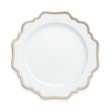 Anna Weatherley - Simply Anna Antique Platinum Dinner Plate