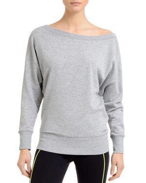2(X)Ist Off-the-Shoulder Sweatshirt