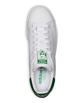 new arrivals 1d127 bb221 ... Adidas - Men s Stan Smith Leather Low-Top Sneakers