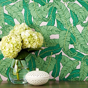 Chasing Paper Banana Leaf Removable Wallpaper