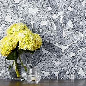 Chasing Paper Banana Leaf Removable Wallpaper