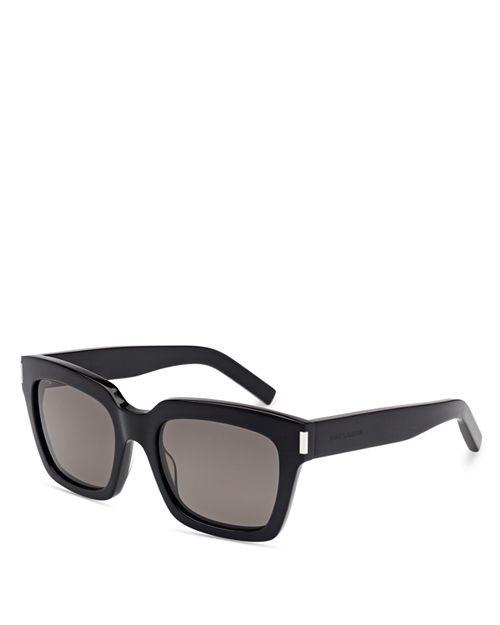 Saint Laurent - Men's Oversize Square Sunglasses, 53mm