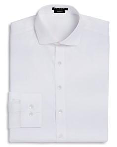 Vardama - Park Avenue Solid Stain Resistant Dress Shirt - Regular Fit