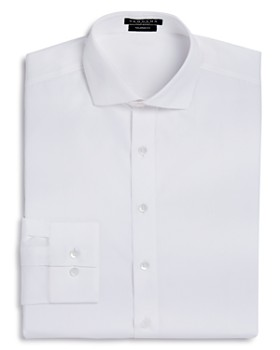 Vardama - Park Avenue Solid Stain Resistant Dress Shirt - Regular Fit