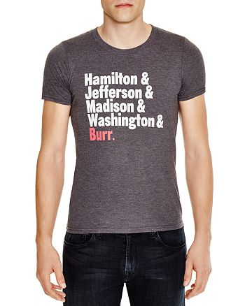 Creative Goods - Hamilton Presidents Grahpic Tee