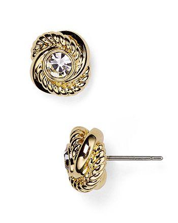kate spade new york - Infinity and Beyond Knot Stud Earrings