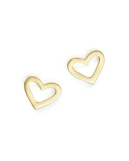 Roberto Coin - 18K Yellow Gold Heart Earrings