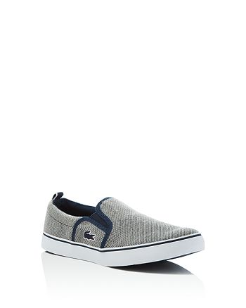 f9d19c4f8 Lacoste - Boys  Gazon Slip On Sneakers - Little Kid