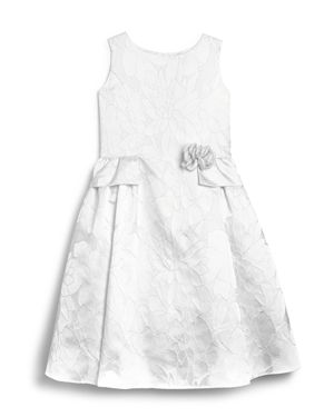 Us Angels Girls' Brocade Flower Girl Dress - Little Kid thumbnail