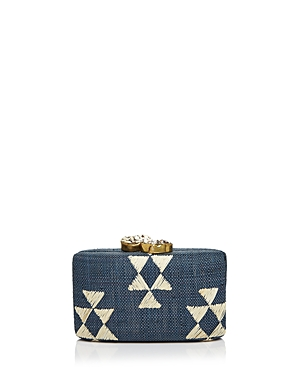 Kayu Tribal Stone Clutch