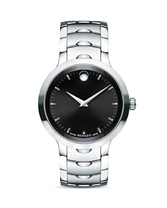 Movado - Stainless Steel Luno Watch, 40mm