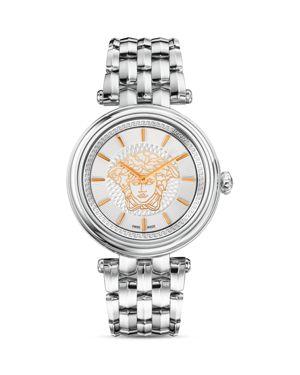 Versace Stainless Steel Khai Watch, 38mm