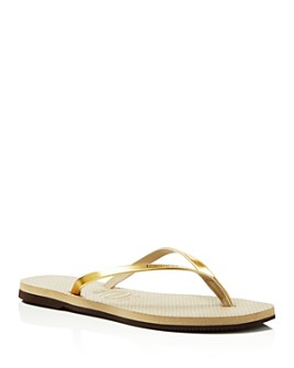 havaianas - Women's You Metallic Slim Flip-Flops