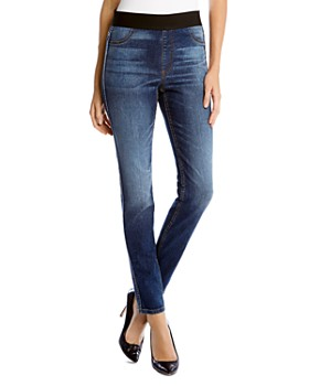 Karen Kane - Faded Stretch Denim Leggings