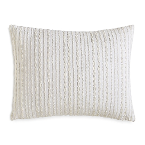 Dkny City Pleat Embroidered Decorative Pillow 12 x 16