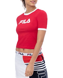 FILA - Tionne Crop Logo Tee