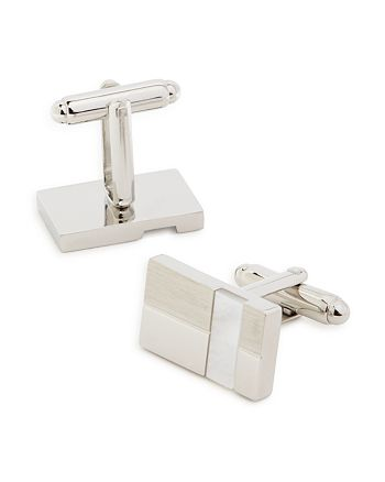 The Men's Store at Bloomingdale's - Mother-of-Pearl Striped Cufflinks - 100% Exclusive
