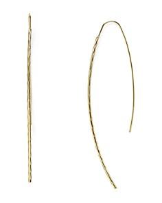 AQUA - Desi Hammered Threader Earrings - 100% Exclusive