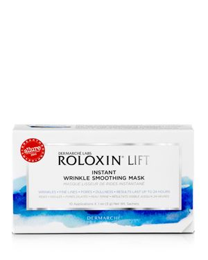 DEMARCHE LABS ROLOXIN LIFT INSTANT WRINKLE SMOOTHING MASK, BOX OF 10