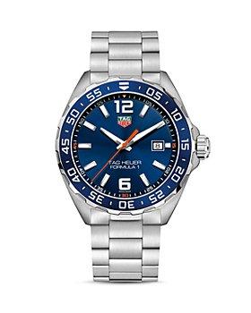 TAG Heuer - Formula 1 Quartz Men's Blue Steel Watch, 43mm