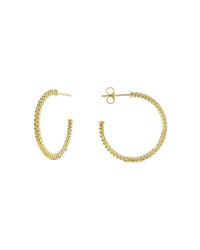 LAGOS - 18K Gold Hoop Earrings