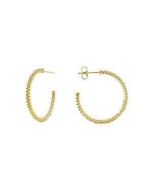 Lagos 18K Gold Hoop Earrings