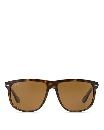 66082c2d0042 Ray-Ban Unisex Polarized Flat Top Boyfriend Sunglasses, 60mm ...