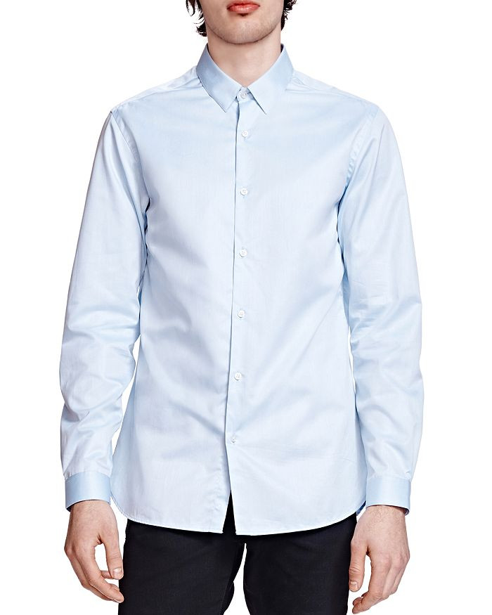 The Kooples - The Smart Twill Classic Fit Button-Down Shirt