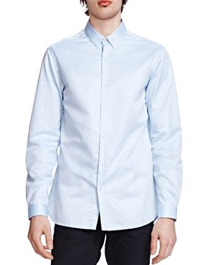 The Kooples The Smart Twill Classic Fit Button-Down Shirt