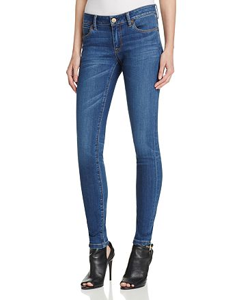 Burberry - Skinny Jeans in Mid Indigo