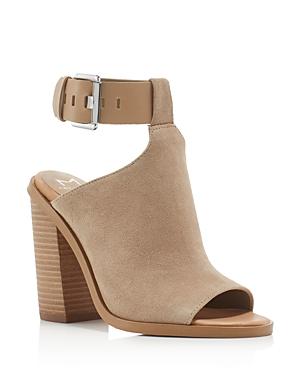 Marc Fisher Ltd. Vashi Ankle Strap Block Heel Sandals