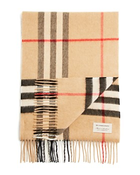 ... Burberry - Giant Icon Check Cashmere Scarf 55e075460d
