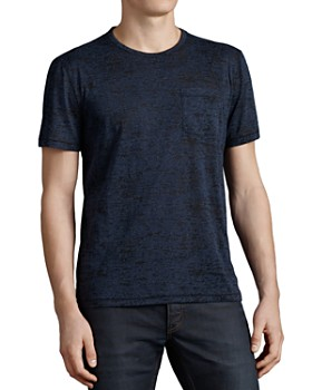 John Varvatos Star USA - Short Sleeve Burnout Tee