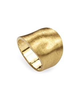 Marco Bicego - 18K Yellow Gold Engraved Lunaria Ring