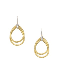 Marco Bicego 18K Yellow Gold Cairo Drop Earrings with Diamonds - Bloomingdale's_0
