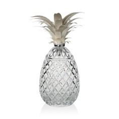 "William Yeoward Crystal ""Isadora Silver"" Pineapple Centerpiece, 19"" - Bloomingdale's Registry_0"