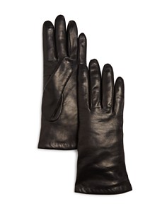 Bloomingdale's Cashmere-Lined Leather Gloves - 100% Exclusive_0