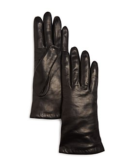 Bloomingdale's - Cashmere-Lined Leather Gloves - 100% Exclusive