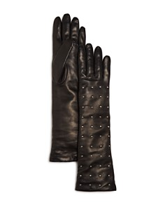 Bloomingdale's - Cashmere Lined Studded Long Gloves - 100% Exclusive