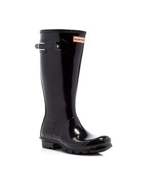 Hunter - Unisex Gloss Original Kids Classic Rain Boots - Little Kid, Big Kid