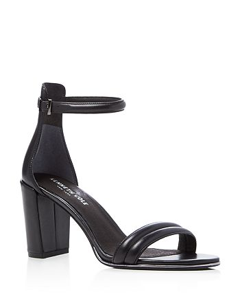 Kenneth Cole - Women's Lex Leather Ankle Strap High-Heel Sandals