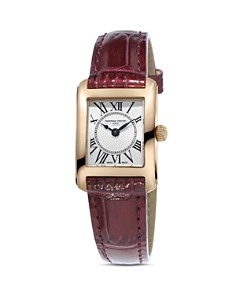 Frederique Constant Classics Carree Watch, 23mm - Bloomingdale's_0