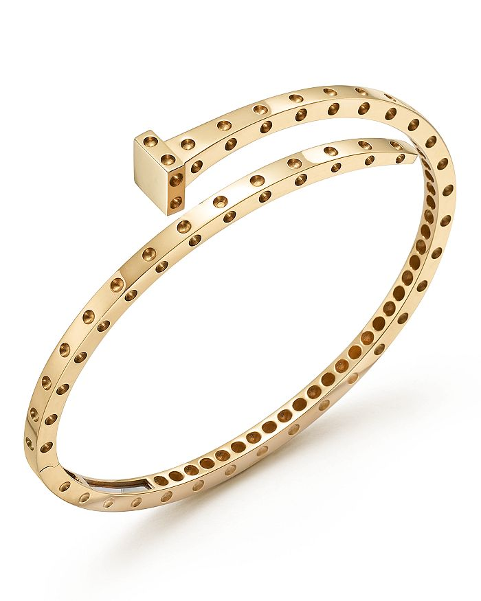 Roberto Coin - 18K Yellow Gold Pois Moi Chiodo Bangle - 100% Exclusive
