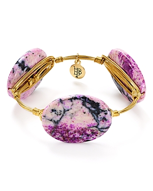 Bourbon & Boweties Purple Jasper Bangle
