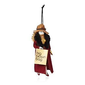 Bloomingdale's Shopper Girl Ornament - 100% Exclusive