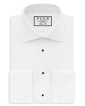 Thomas Pink - Pleat Evening Shirt - Bloomingdale's Classic Fit