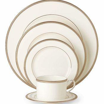 """kate spade new york - Kate Spade """"Sonora Knot"""" 5 Piece Place Setting"""