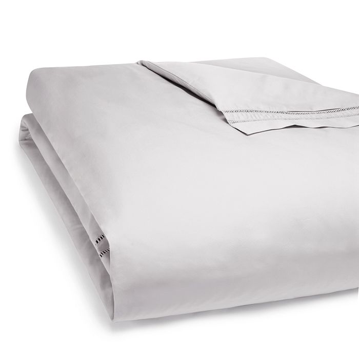 Hudson Park Collection - Ladder Hemstitch Duvet Cover, Full/Queen - 100% Exclusive