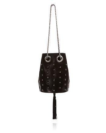 Delphine Delafon - Small Chain Stud Bucket Bag